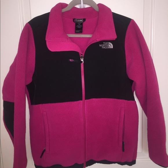 69f2b8a67 Pink and gray North Face Denali Jacket